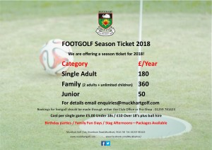 Season Ticket 2018