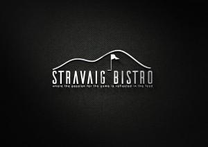 Stravaig Bistro logo mockup nu